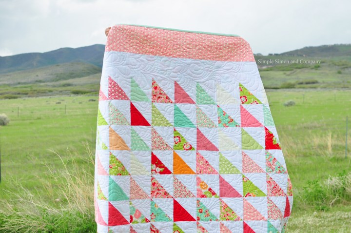 scrumptious quilt Simple Simon and Company