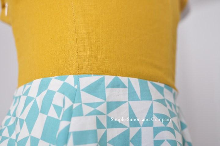 summer sewing sundress