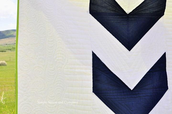 arrow quilt details simple simon and company