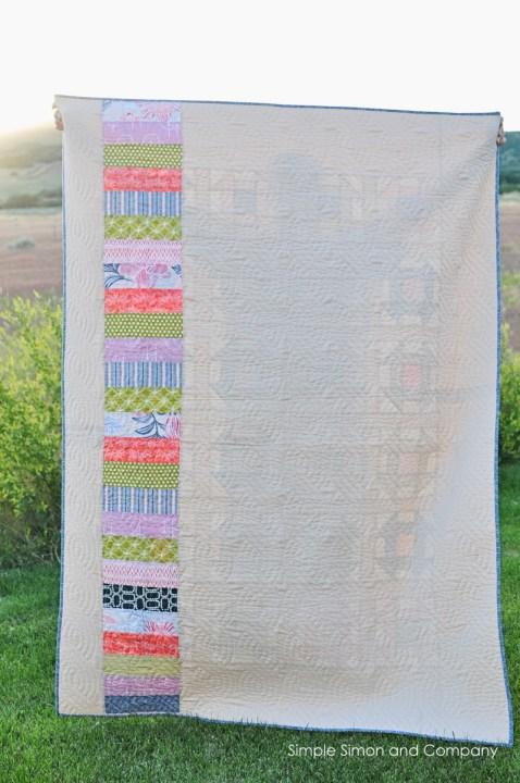 churndash back whole quilt