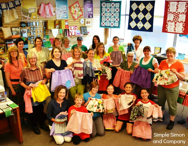 Skirting the Issue Sewing Night 2014