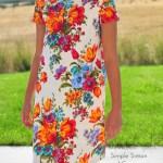 A Flower Dress.