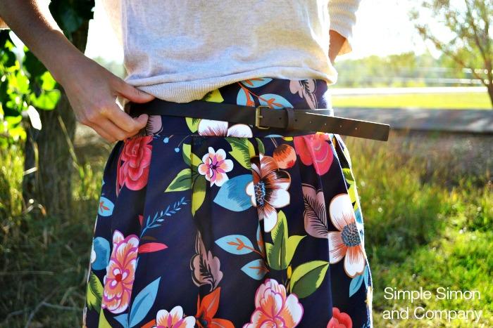 Pleated Skirt for JoAnn