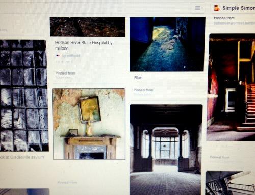 Forgotten Places Pinterest Board