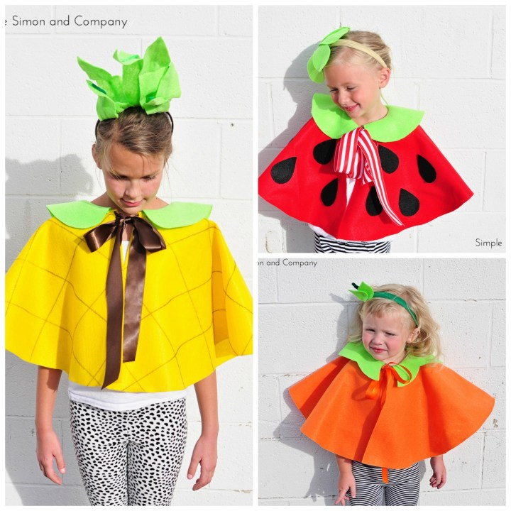 Fruit Capes Collage