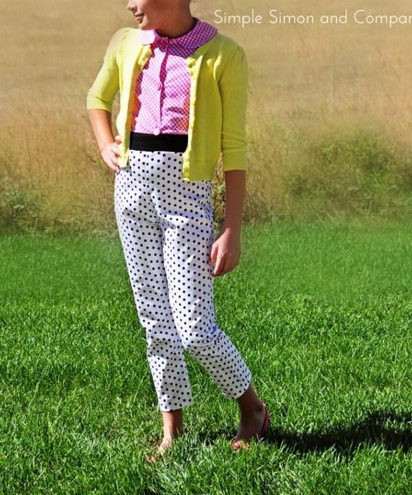 Pants with Polka Dots.