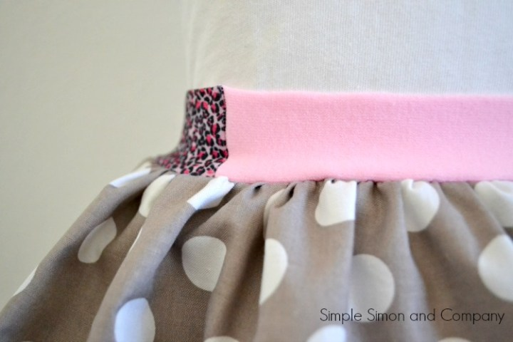 Headband Waistband detail