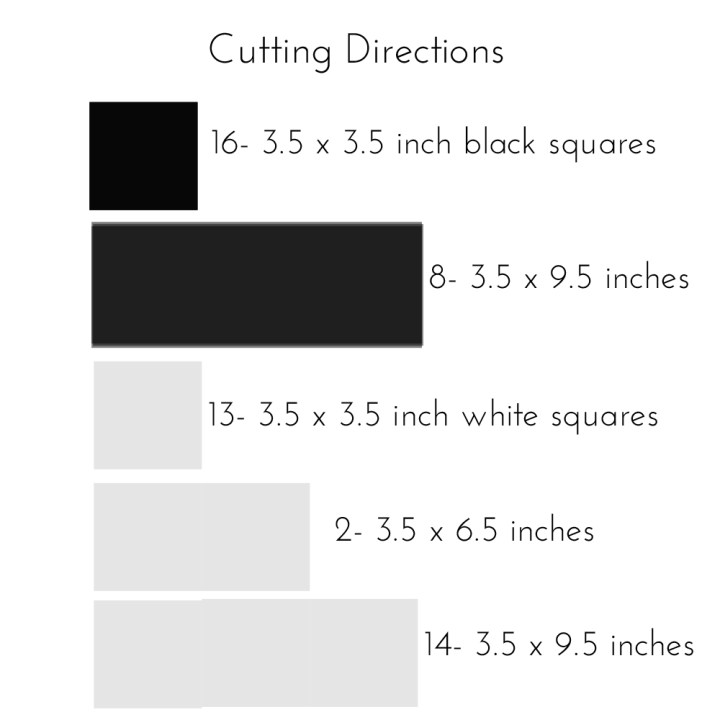 cutting directions