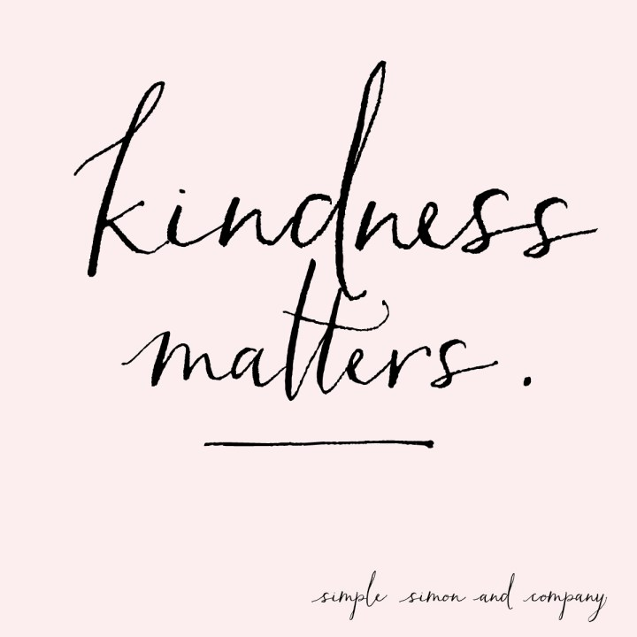 kindness matterns
