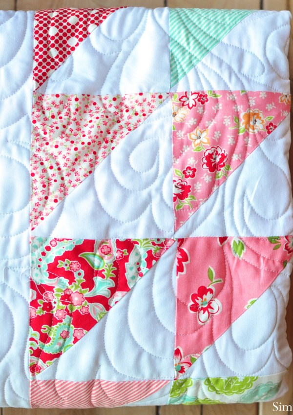 Quilt Block of the Month–Half Square Triangle Block Video Tutorial