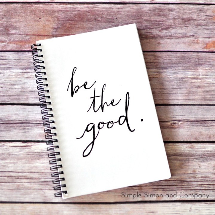 be the good notebook