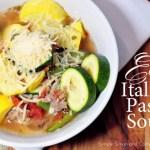 Easy Italian Pasta Soup