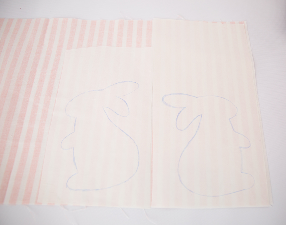 step 1 bunny dish towels