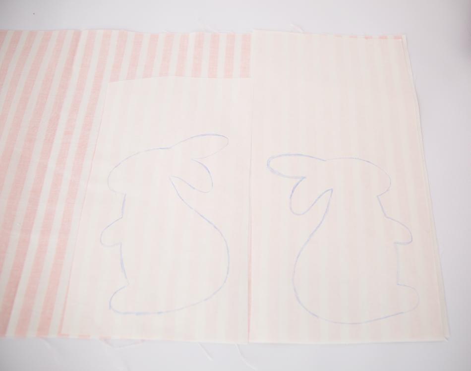 step 1 bunny dish towels
