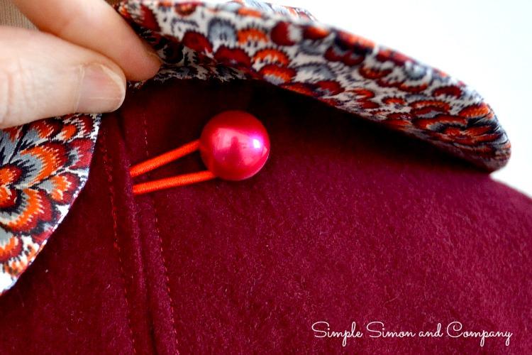 flannel tunic back closure