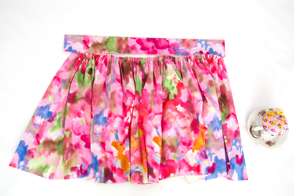 A Spring Skirt And A Tutorial On An Easy Gathered Skirt Simple
