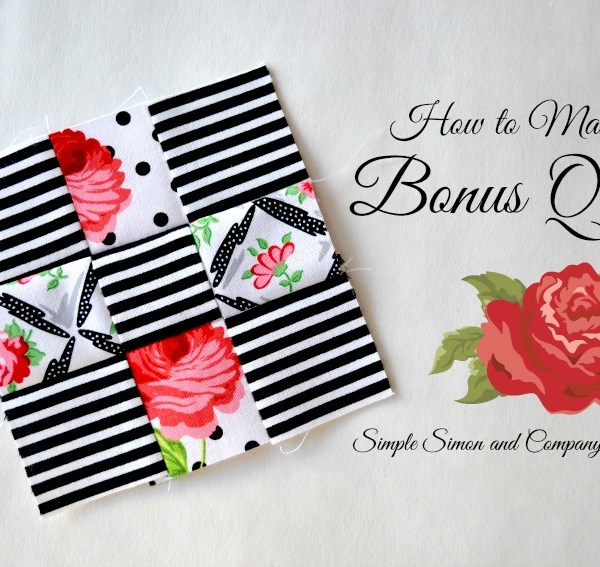 How to Make A Bonus Quilt