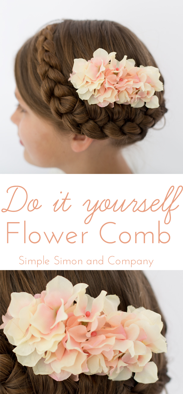 Do it yourself Flower Comb