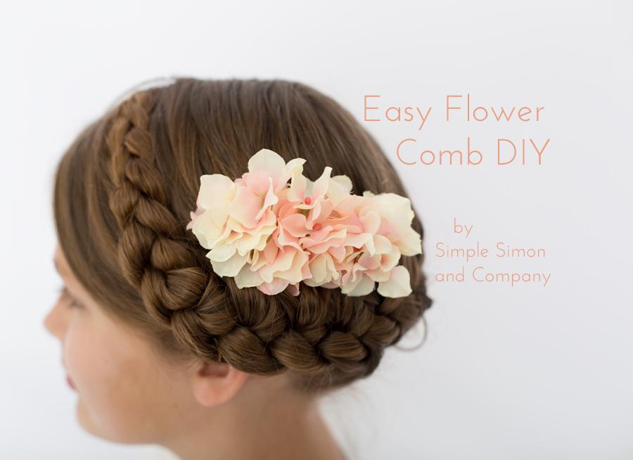 Flower Comb DIY