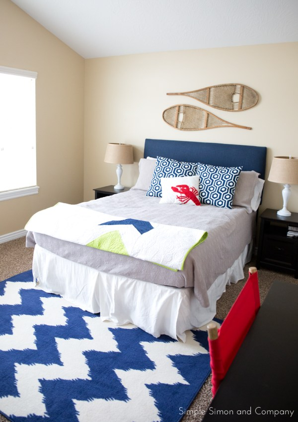 Decorating on a Budget–Teen Boy's Room
