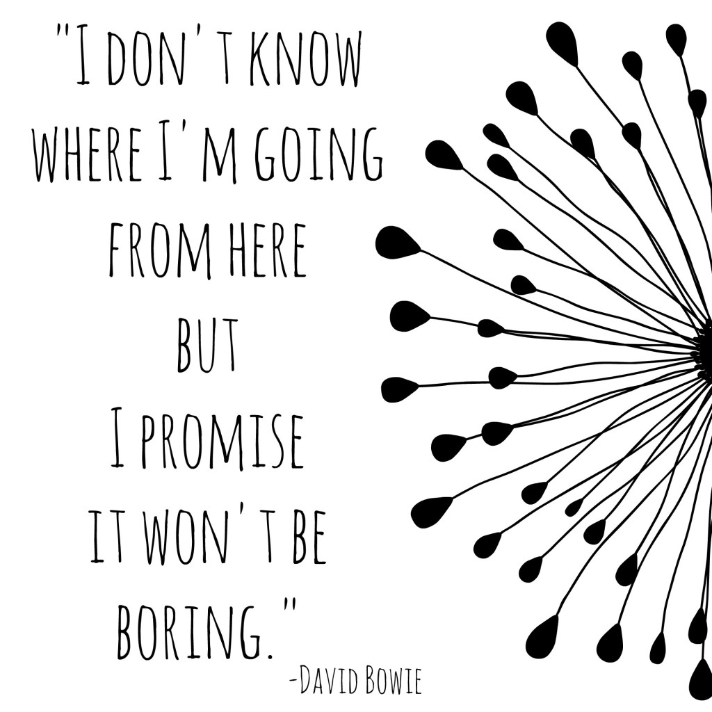 I dont know where I'm going quote