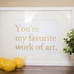 You're My Favorite Work of Art–Vinyl Palooza Tour