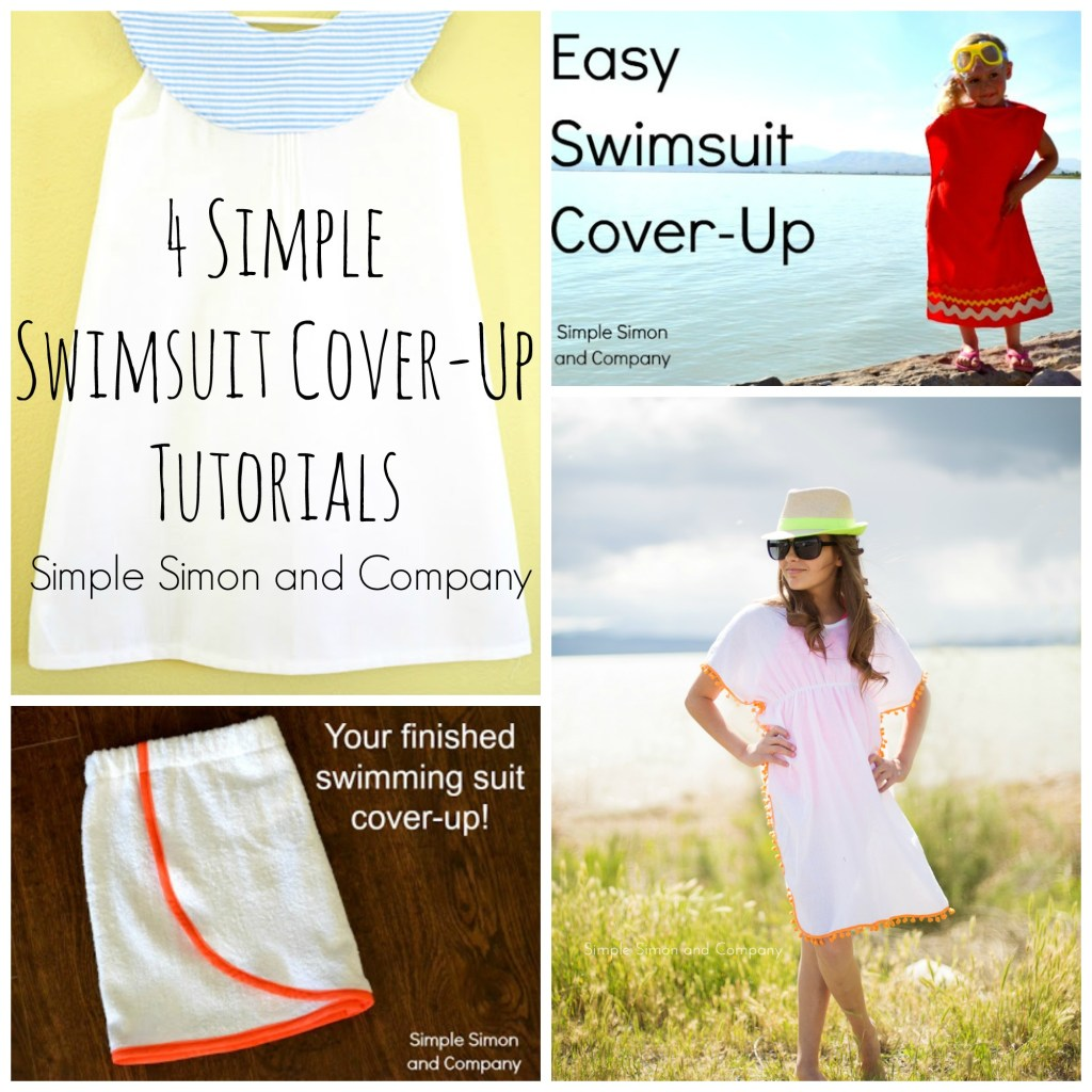 4 Simple Swimsuit Cover-Ups
