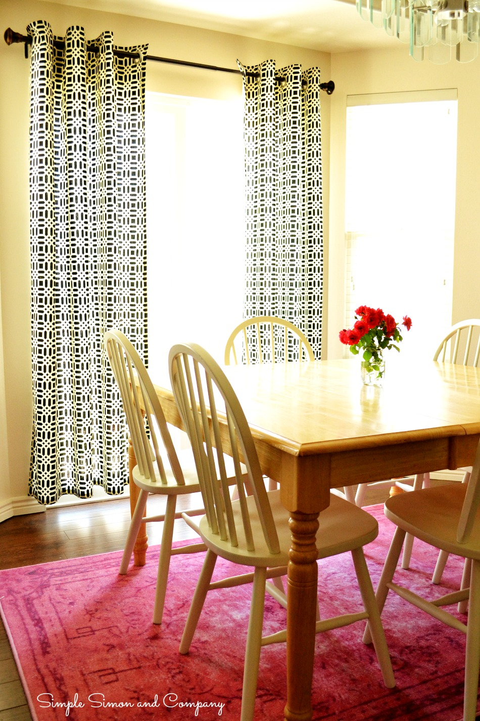 Grommet Curtains Full View