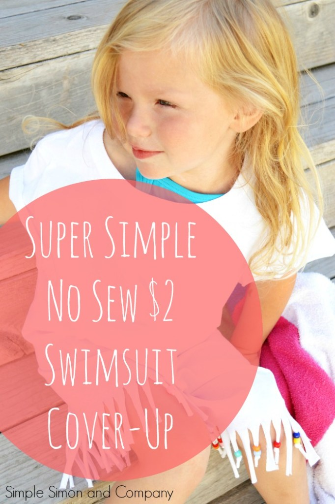 No Sew Swimsuit CoverUp Title