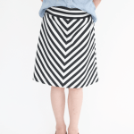 Skirting the Issue: Craftiness is Not Optional and A Drop Waist Skirt