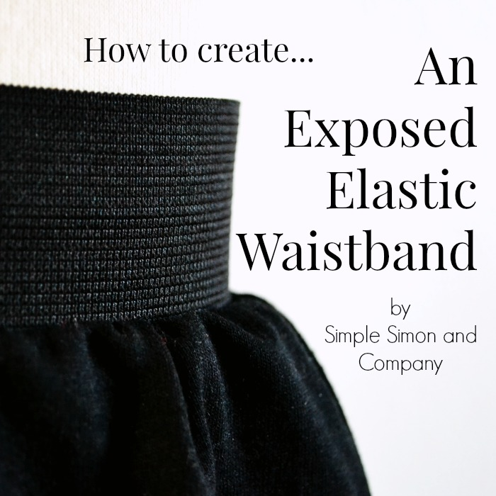 Exposed-Elastic-Waistband