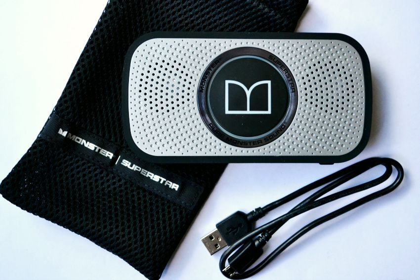 Monster Speakers with Cord