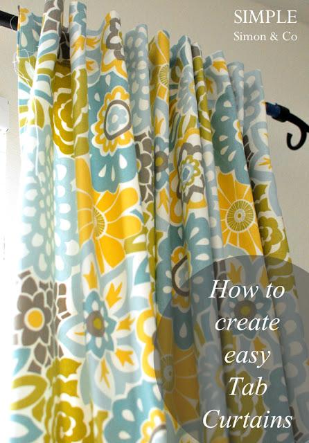 Elizabeth's Tab Top Curtains