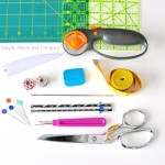 Tools for the Beginning Quilter or Seamstress