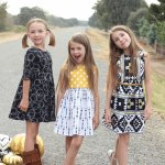 Four Corners Fabric Tour–Girl Inspired, Emma en Mona, and A Girl and a Glue Gun