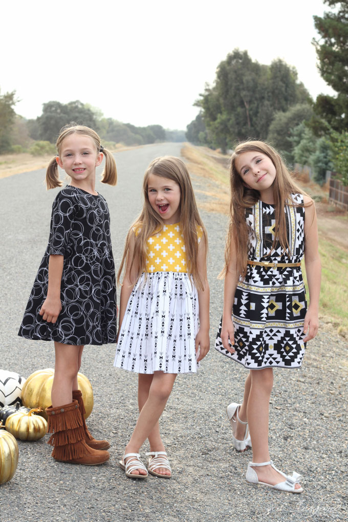 Girls-Dresses-with-Four-Corners-Fabric-14