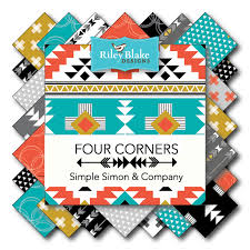 Four corners Fabric Riley Blake