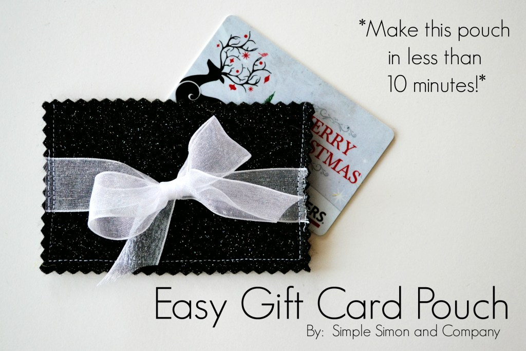 Gift Card Holder Title