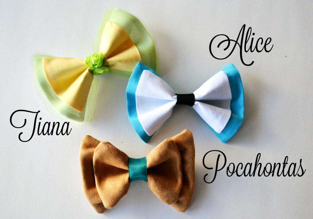 Hairbow Alice Pocahontas Tiana
