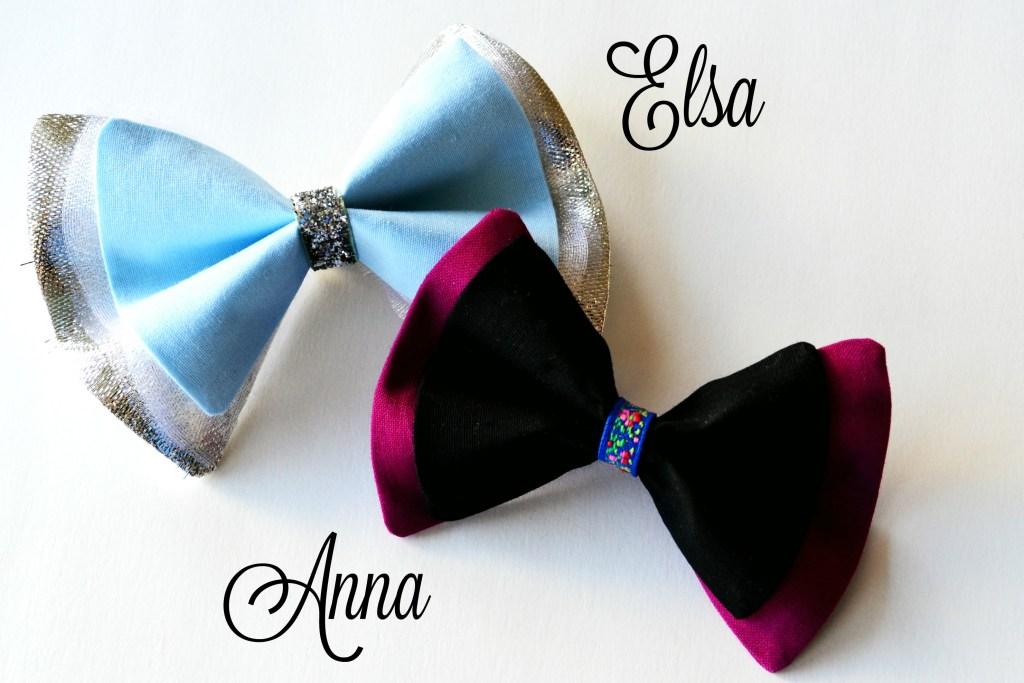 Hairbow Elsa Anna