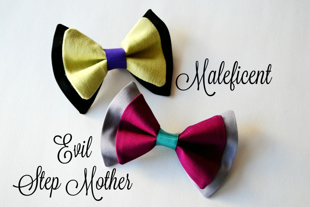 Hairbow Maleficent step Mother