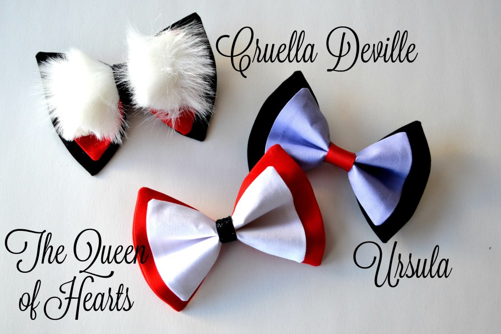 Hairbow Queen of Hearts Cruella Ursula