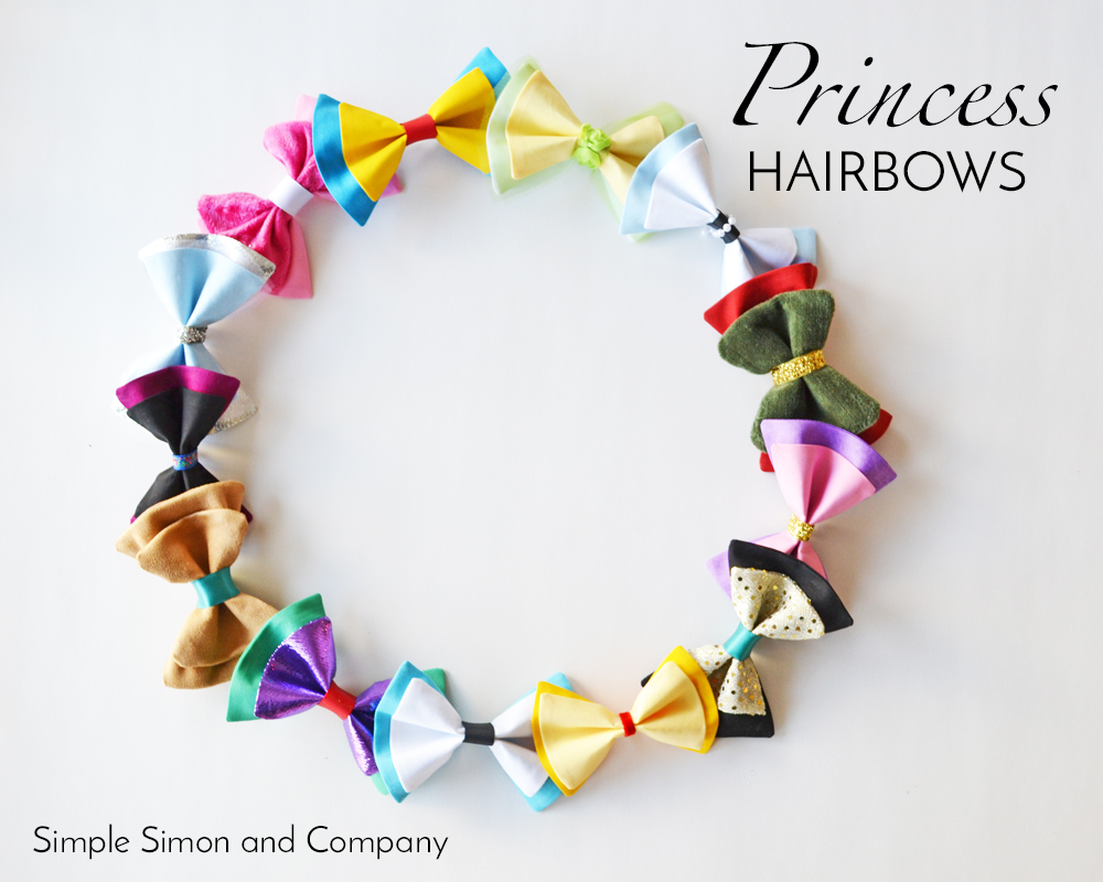 Princess Hairbows