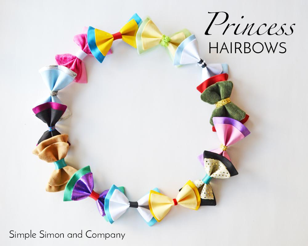 Princess Hairbows