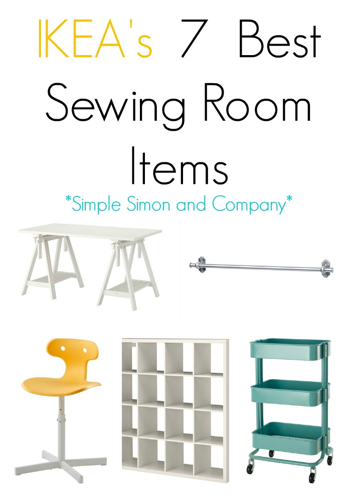 IKEAS 7 Best Sewing Room Items - Simple Simon and Company on tool box ikea, sewing table organizer, furniture ikea, sewing table furniture, sewing rooms, sewing workstation, dressers ikea, floating vanity ikea, sewing table plans, lappland ikea, keyboard tray ikea, filing cabinets ikea, sewing desk, crafting tables ikea, folding cutting table ikea, sewing table with storage, small drop leaf tables ikea, sewing cutting table, chairs ikea, foldable dining table ikea,