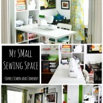 My Small Sewing Space