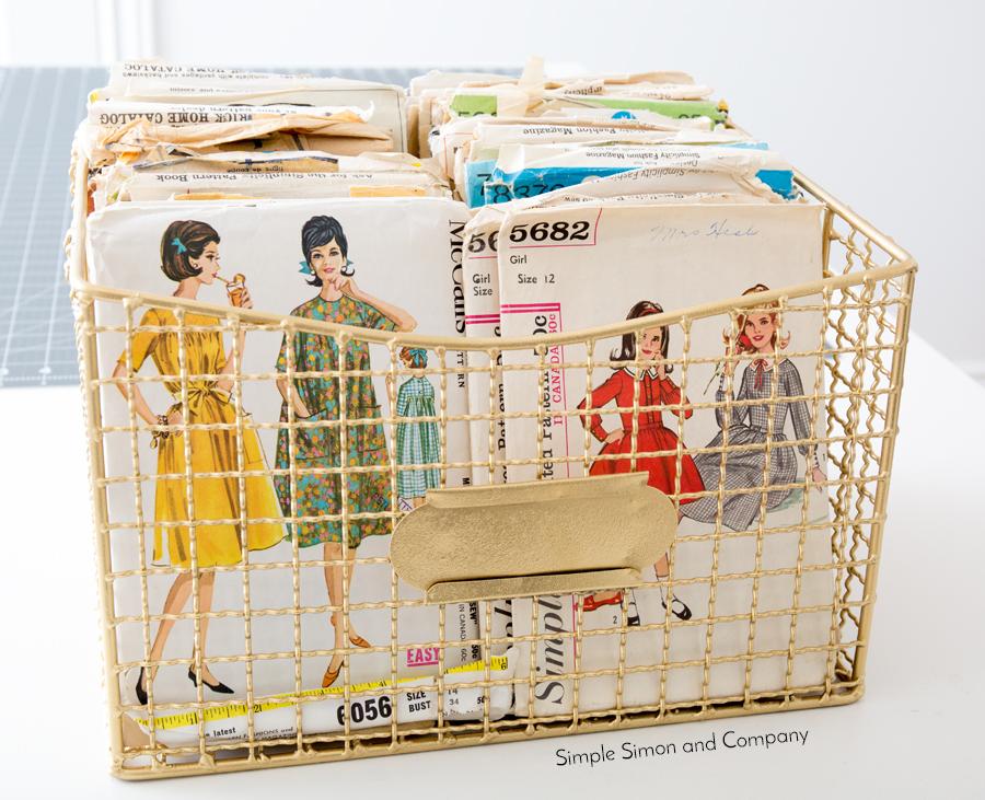 sewing room bin