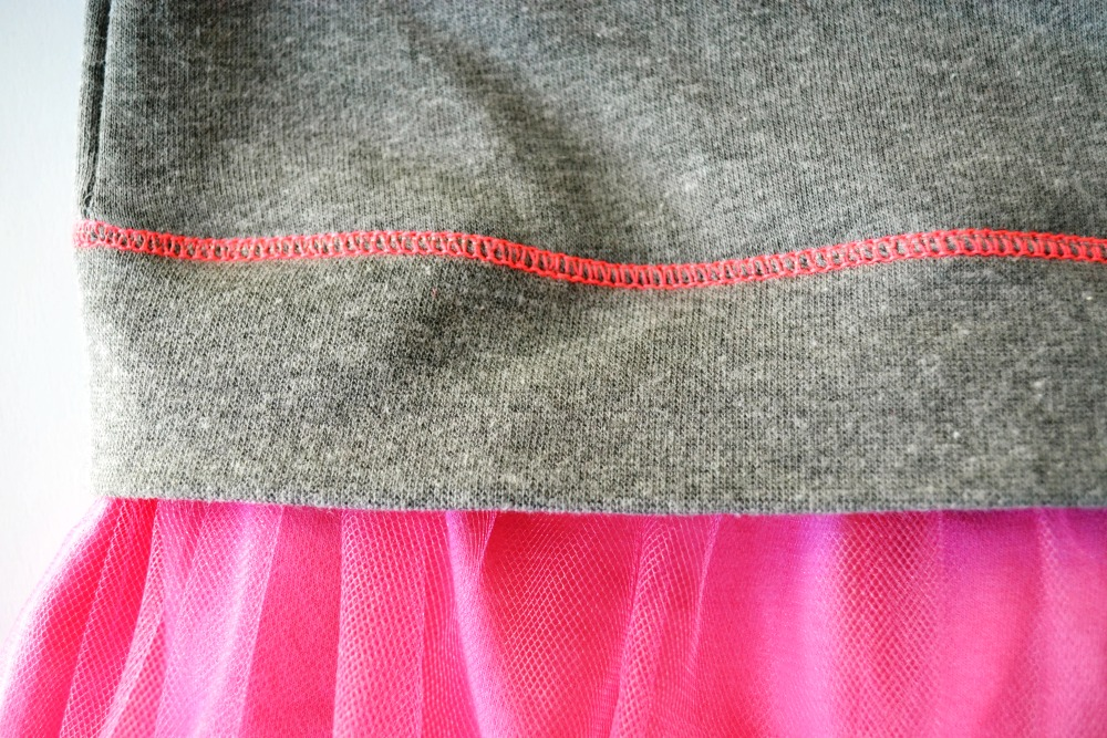 Sweatshirt to Dress step 8