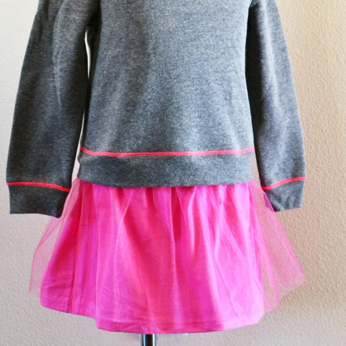 How to Turn a Sweatshirt into A Dress - Simple Simon and Company