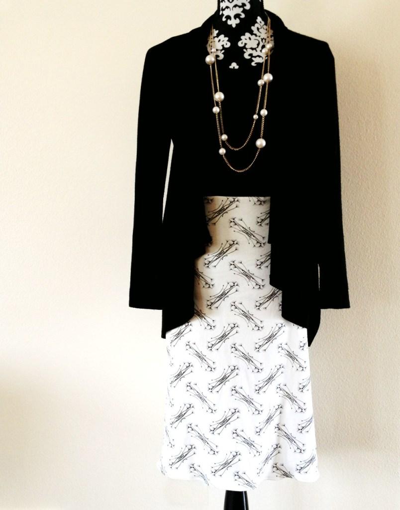 RadialFloral Skirt Full Image
